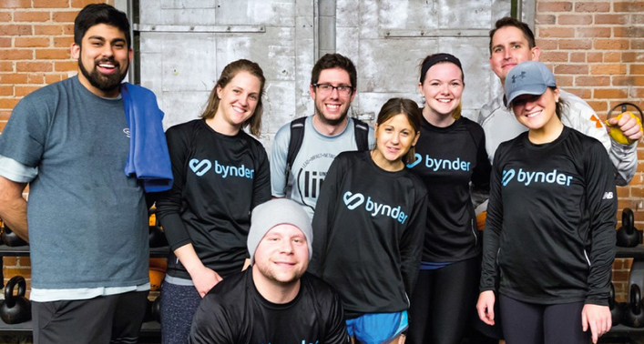 Bynder Boston gets in a spin for a good cause