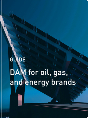 Digital asset management for oil, gas, and energy brands