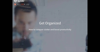 How to conquer clutter and boost productivity, with Deb Lee