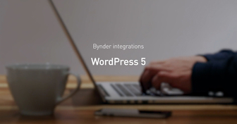 Bynder integrates with WordPress 5