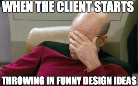 When the client starts