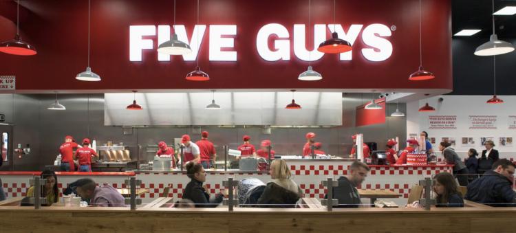 5 Guys restaurant