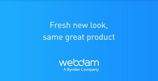 Fresh new look same great product webdam