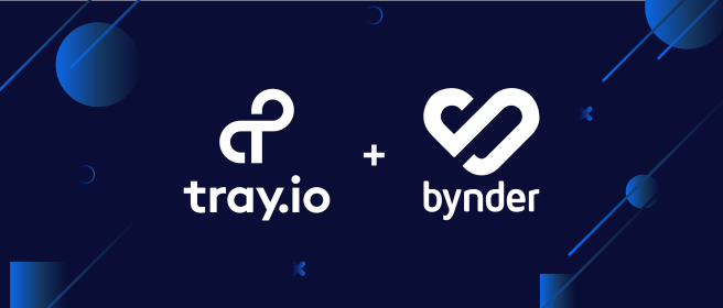 Bynder partners with Tray.io to better connect your tech stack