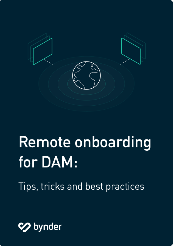 Remote onboarding for DAM: Tips, tricks and best practices